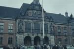 Menschen am Harburger Rathaus