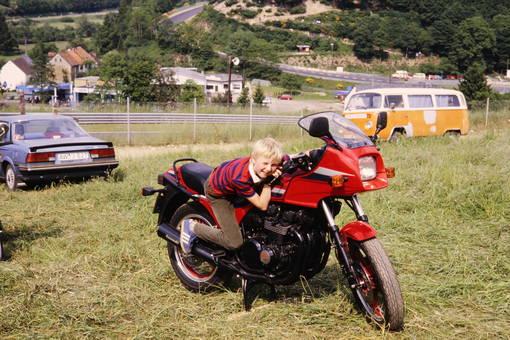 Kleiner Biker