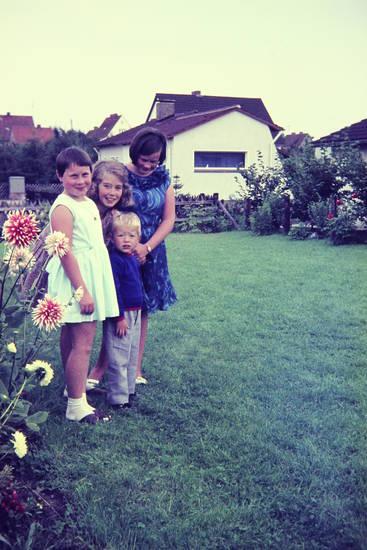 Blume, Kindheit, kleid, Rasen