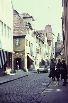 Hafengasse in Rothenburg