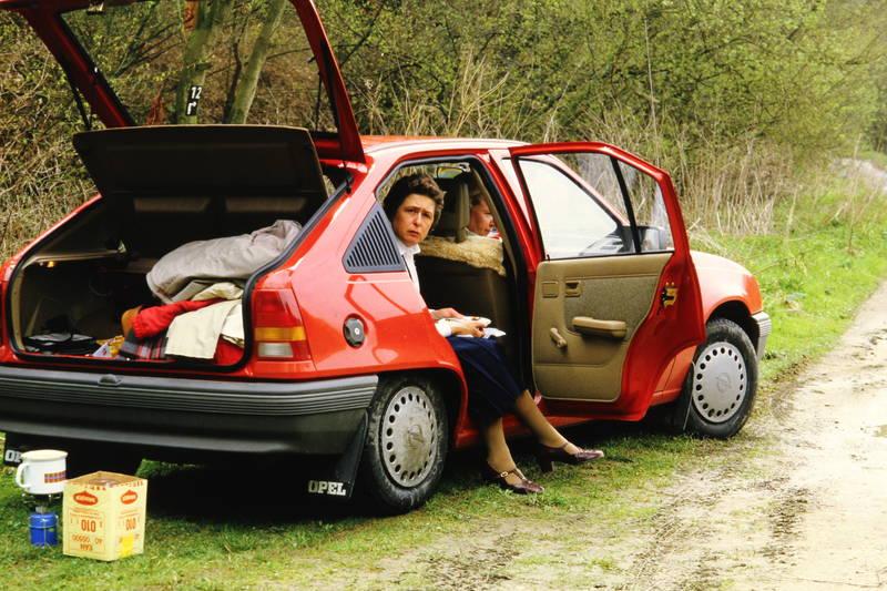 auto, Campingkocher, essen, kadett, kadett-e, KFZ, maggi, Opel, Opel Kadett, pause, PKW, Rast