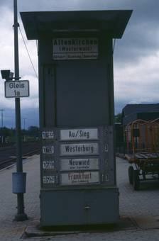 Zugabfahrten