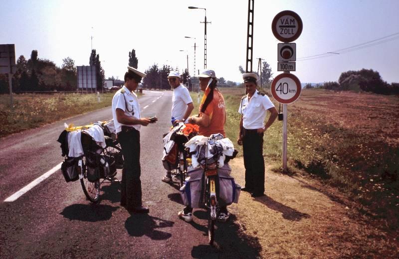 fahrrad, Fahrradtour, kontrolle, polizei