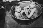 Kleine Badewanne