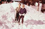 Cool im Schnee
