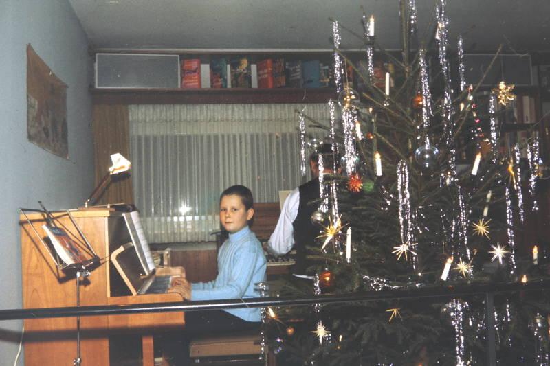 christbaum, klavier, Lametta, musik, Orgel, Tannenbaum, Weihnachten, Weihnachtsbaum