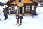 Vor der Skischule