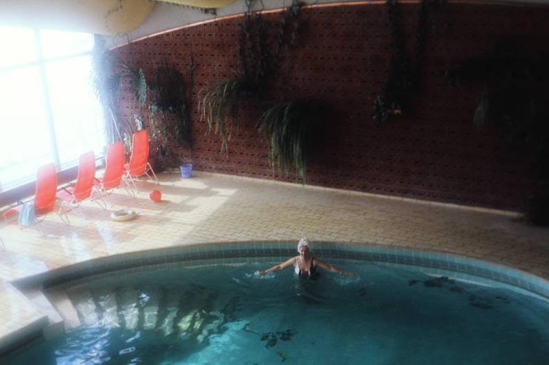 badeanzug, badehaube, schwimmbad, Schwimmbecken, wasser