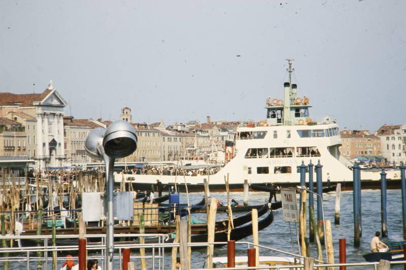 canal grande, fähre, Gondel, holz, lagune, schiff, vaporetto, Venedig
