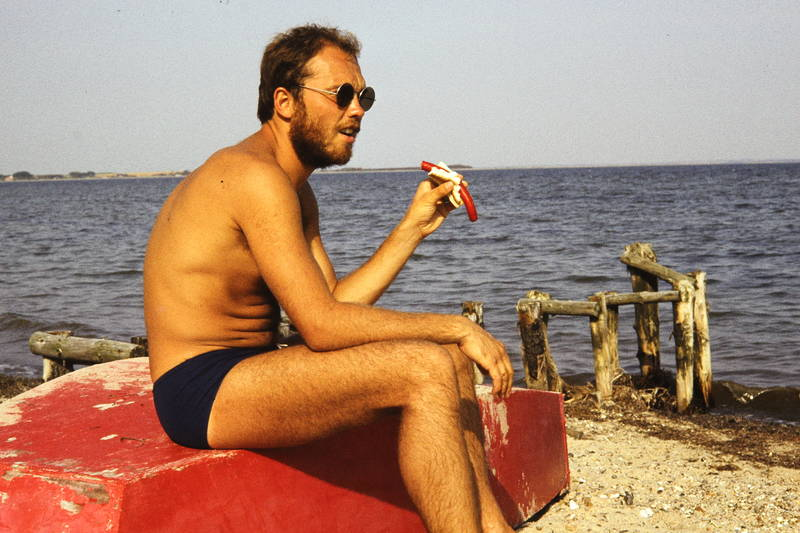 dänemark, meer, ostsee, sand, sonnenbrille, strand, Wurst