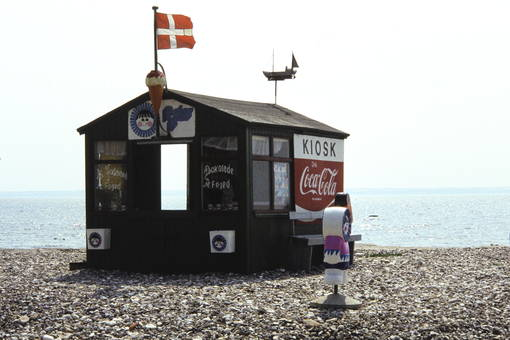 Kiosk am Strand