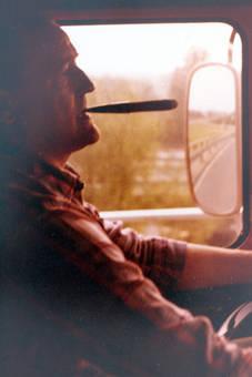 Zigarre im Mund