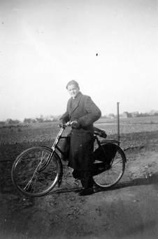 Der Mann und das Fahrrad