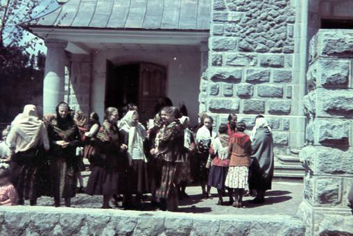 Vor der St. Maria Magdalena