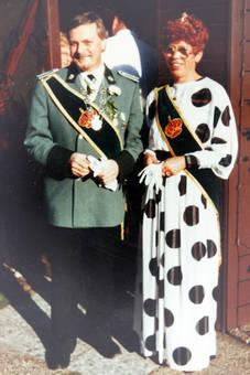 Schützenkönig und Königin
