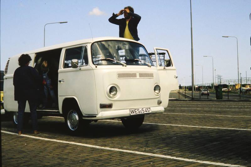 Aussicht, Bulli, bus, KFZ, Parkplatz, t2a, VW T2a, VW-Bulli