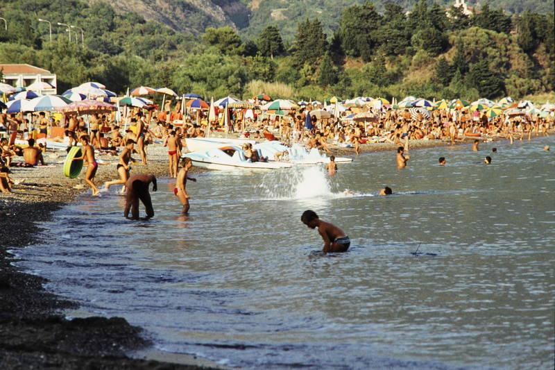 Attendorn, bademode, meer, Sommerurlaub, Sonnenschirm, stand, tretboot, urlaub