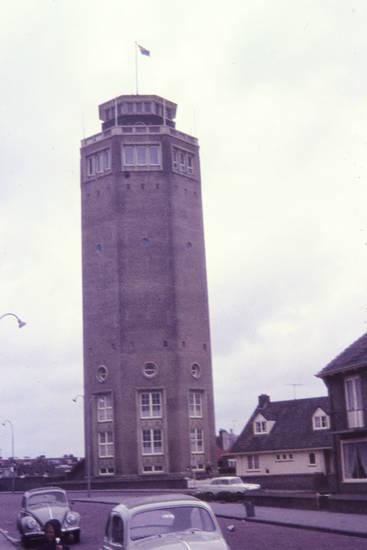 niederlande, stadt, straße, wasserturm, Zandvoort