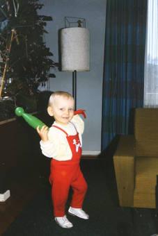 Kind mit Spielzeug