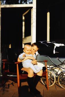 Zwei auf einem Stuhl