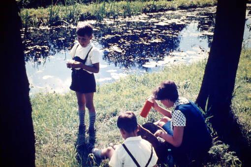 Picknick am Kanal