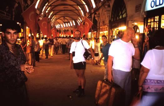 Im großen Basar in Istanbul