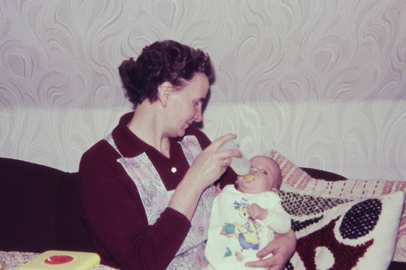baby, Fläschchen, Flasche, fürsorge, kissen, kleinkind, Lätzchen, Muster, schürze, tapete