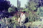 Sonnen im Rosengarten