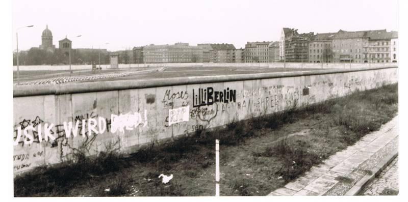 Berliner MAuer, deutsch-deutsche grenze, Engelbecken, Innerdeutsche Grenze, Kreuzberg, Waldemarstraße