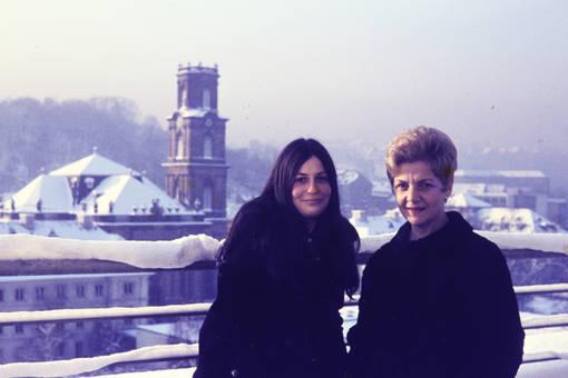 Frauen im Schnee