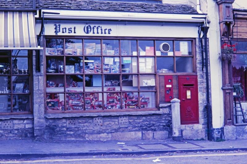 Briefkasten, Postamt, schaufenster, Spielzeug