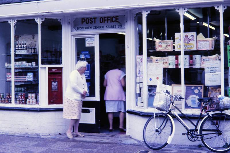 Dorfladen, fahrrad, General Store, geschäft, post office, Postamt, schaufenster, Tante Emma Laden