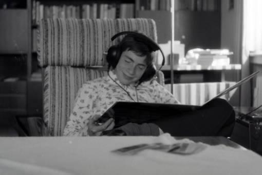 Entspannen und Musik hören