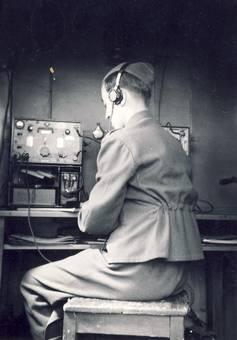 Beim Funkdienst