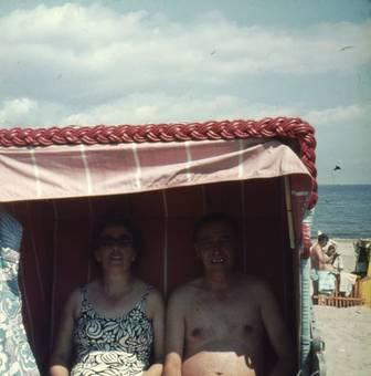 Im Strandkorb