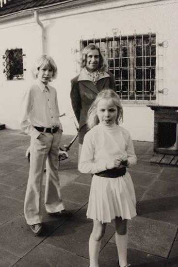 Faltenrock, Kindheit, mode, schlaghose