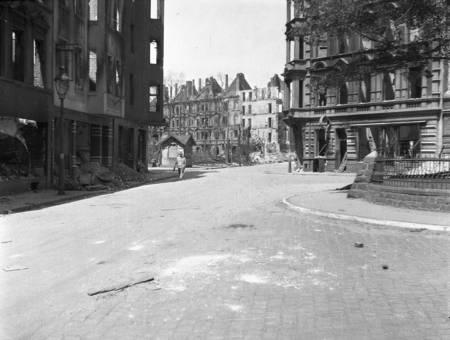 Nach der Bombardierung