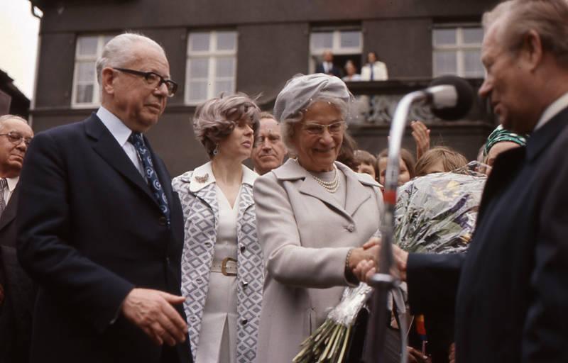 Brille, bundespräsident, frau, frisur, Gustav Heinemann, politiker, ranke