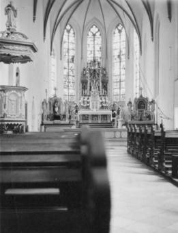 Kirche im Internat