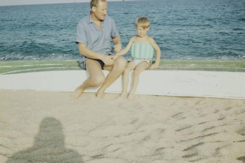 boot, meer, Schwimmgürtel, strand