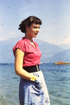 Frau am Gardasee