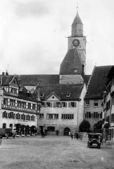 Marktplatz von Überlingen