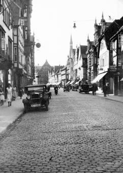 Hauptstraße in Hameln