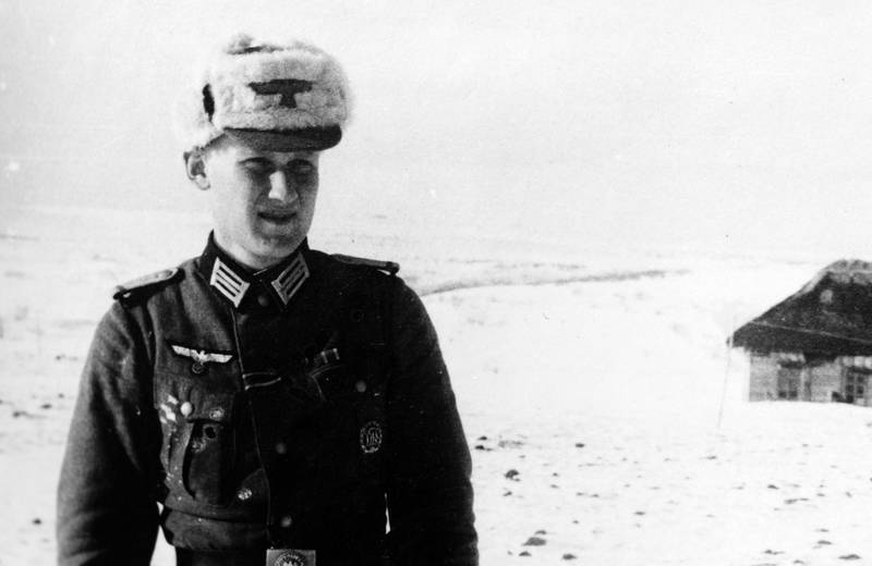 2.Weltkrieg, fellmütze, Russlandfeldzug, schnee, soldat, Uniform