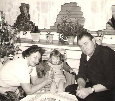 Weihnachten 1969 mit Oma & Opa