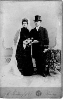 Hochzeit 1905
