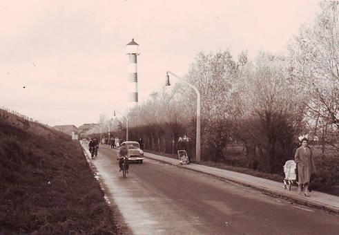 Glückstadt, Am Deich 1959