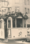 Alte Straßenbahn in Aachen