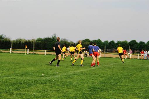 Fußballspiel der B-Jugend