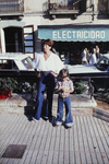 Frau und Kind auf Ibiza